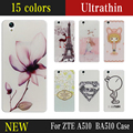 New Fashion Mobile Phone Skin Case Soft TPU Cover Christmas in Paris Silicon Shell Phone Bag Case For ZTE A510 BA510 cases cases