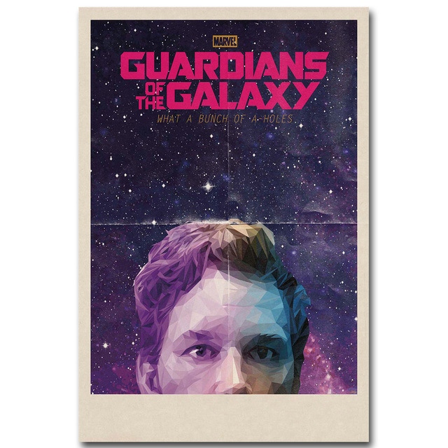 Star Lord Silk Fabric Poster
