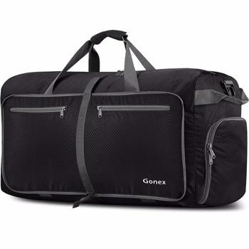 88940fdac357 Gonex 150L дорожная сумка для путешествий, сумка для мужчин и женщин,  багаж, чемодан для кемпинга, тренажерного зала, бизнес-поездки, большая  емко.