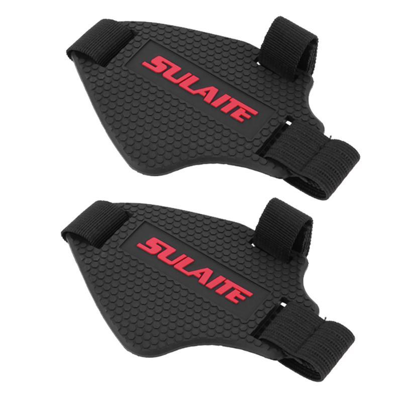 2pcs Motorcycle Gear Shifter Shoe Boots Protector TPU Soft Rubber Shift Boot Cover Bike Cycling Equipment Sport Shoe Cover
