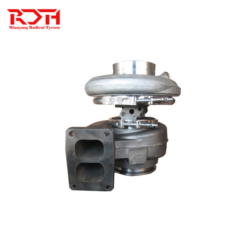 Radient turbocharger HX55 4044198 4043162 4044199 3790509 4031169 20712174 85000593 turbo charger for Volvo D13A E3 Truck MD13|Turbocharger| |  - title=