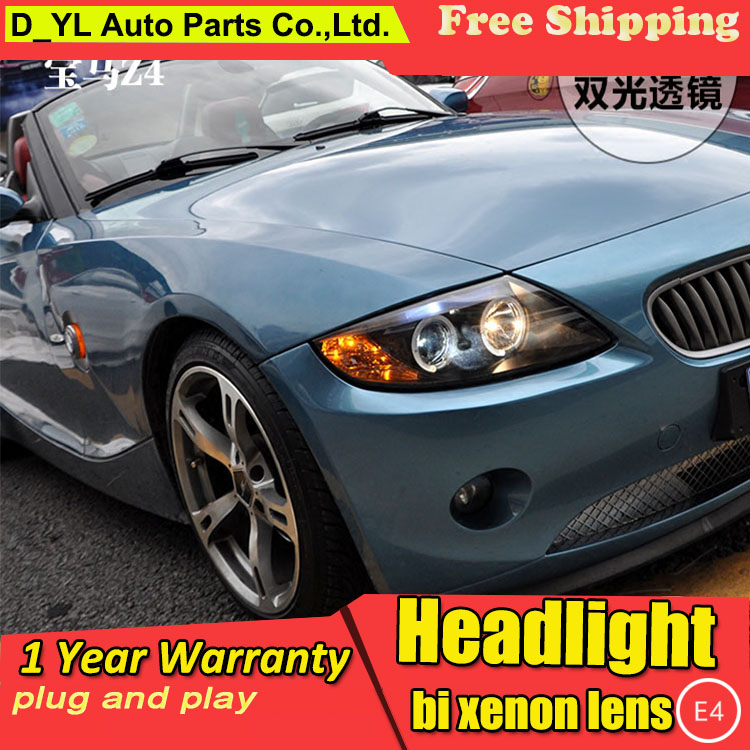 Car Light Assembly D_yl Car Styling For Bmw X1 Headlights 2016-2017 For X1 Led Headlight Drl Lens Double Beam Head Lamp H7 Hid Xenon Bi Xenon