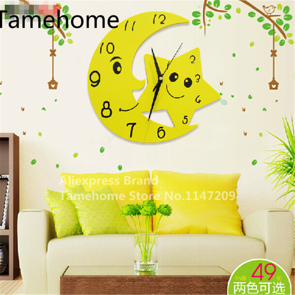 Outstanding Clock Decal Wall Decor Collection - Wall Art Collections ...