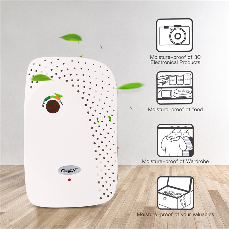 100~240V Mini Home Dehumidifier Air Dryer Moisture Absorber Moisture Absorbant   Dehumidifier For Home Bedroom Kitchen Office
