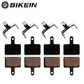 BIKEIN - 4 Pairs Bicycle Resin Disc Brake Pads For Shimano M375 M395 M416 M445 M446 M485 M486 M515 M525 Tektro Orion Auriga Pro