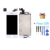 Ipartsbuy 4 em 1 para iphone 5 (Câmera frontal + LCD + Moldura do LCD + Touch Pad) digitador Assembléia