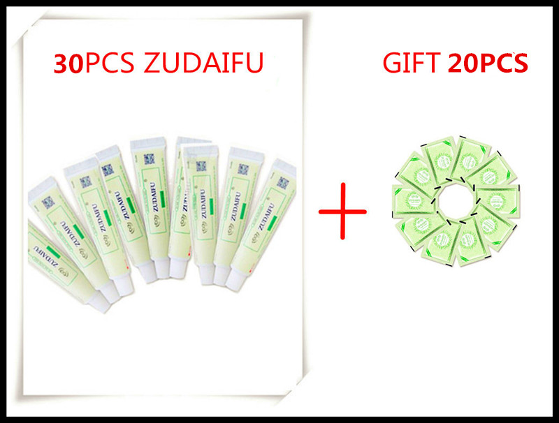 50PIECE 30PIECE ZUDAIFU Psoriasis Creams Gift 20piece ZUDAIFU 2 3G Without Retail Box