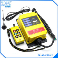 F21 4S Y Long Distance 500 Meters Elevator Industrial Wireless Remote Control Can Be Customized AC380V