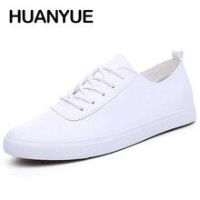 2019 Новая Летняя мужская обувь, кожаная дышащая мужская повседневная обувь, мужская обувь на плоской подошве со шнуровкой, zapatos hombre, черная, белая мужская обувь