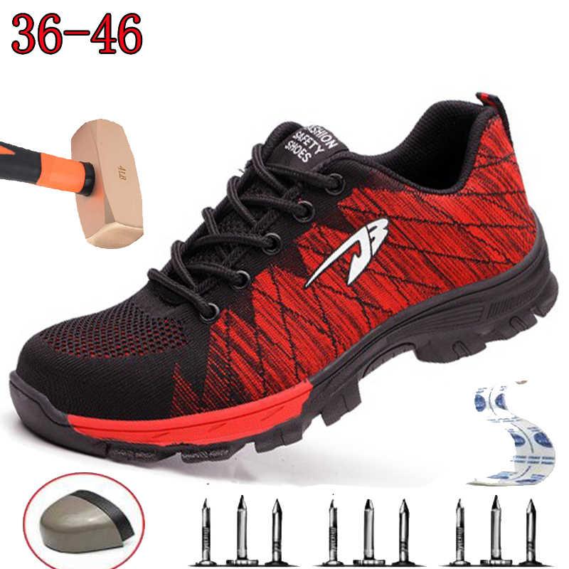 Повседневная Уличная дышащая походная обувь, вразлёт, плетение, камуфляжная защитная обувь, анти-разбивающая, рабочая, страховая обувь