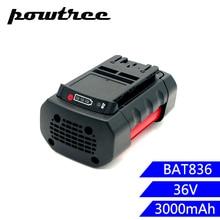 3000mAh 36V BAT836 Li-ion Rechargeable Battery for Bosch 2 607 336 108 BAT810 BAT840 D-70771