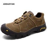 Открытый мужские туфли повседневная обувь ручной работы All Terrain для отдыха на открытом воздухе Пеший Туризм обувь
