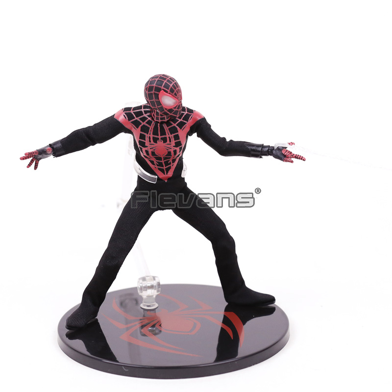 Mezco Marvel Avengers Spiderman Super Hero Spider Man One:12 Collective Bjd Figure Toys 16cm Toys & Hobbies