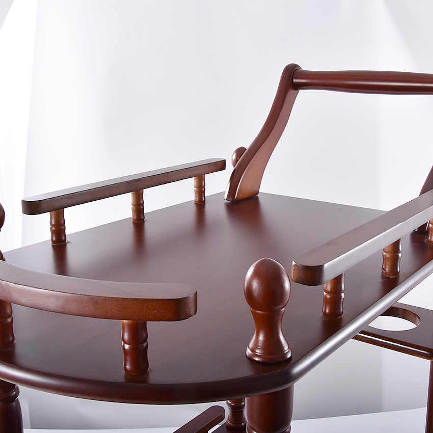 Гостиничная тележка твердые деревянные кофейные столики универсальная полка витрина бытовой двухслойные подвижные чайные столики обеденный автомобиль