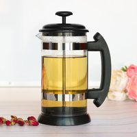 1000ml Stainless Steel French Press Pot Cafetiere Coffee Cup Borosilicate Glass Coffee Maker Tea Filter Tea Maker French Press