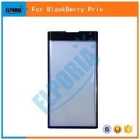 1PC New For BlackBerry Priv Front Outer Glass Lens Touch Screen Front Glass Replacement Parts Black