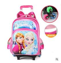 kids Rolling backpack for school kids school bag with wheels Kids Travel Trolley luggage Bags Children Wheeled backpacks school