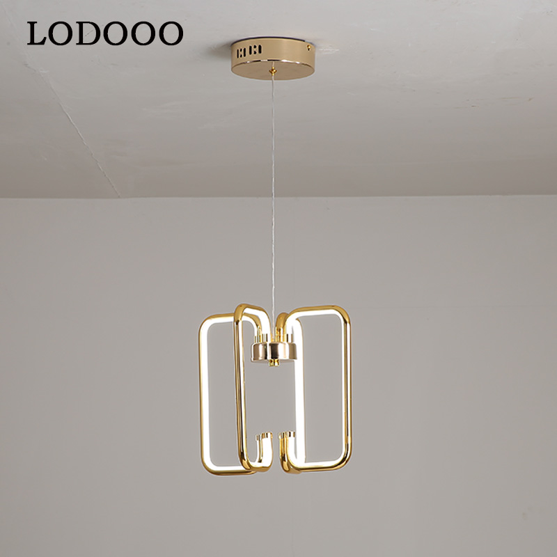 Modern LED plating Pendant Light For Living room Bedroom Dining room Hanging Lamp LED Pendant Lamp Home Lighting Led Lustre
