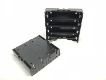 MasterFire 40pcs/lot Black Plastic Storage Box Holder Cover Pin for 4 x 18650 Battery Case Clip Contact 3.7V DC