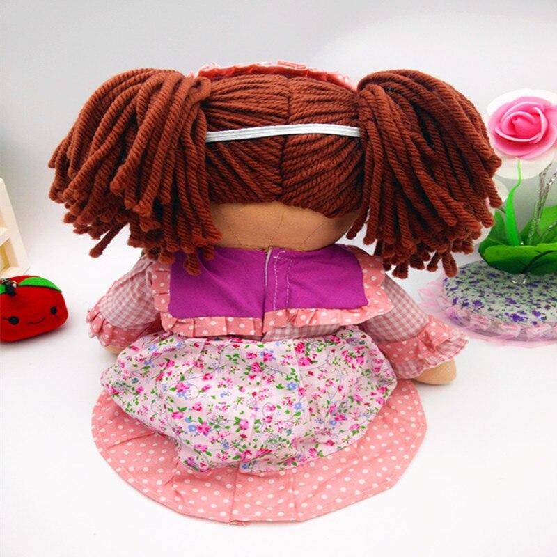 Smafes utstoppa rag dukker leke for jenter 17 tommers mykt baby født - Dukker og tilbehør - Bilde 5