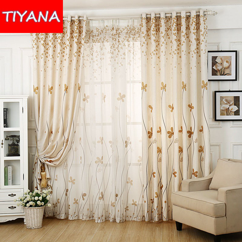 Compare Prices On Liveing Room Curtain Sets Online Shopping Buy