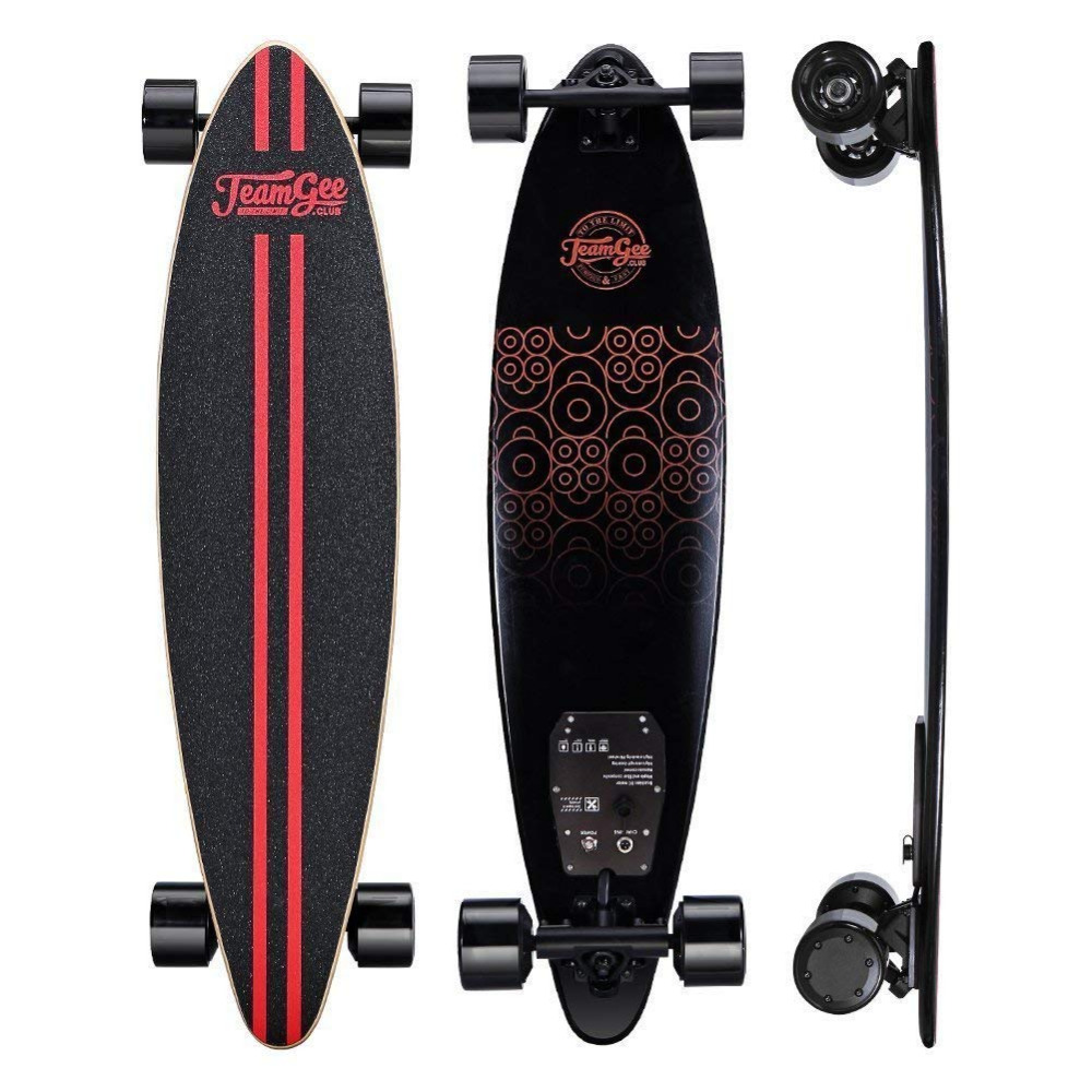 2018 New Arrival Teamgee H6 Electric Skateboard with Remote Control Thinnest Electric  longboard fast suspension skateboard
