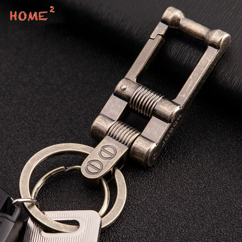 Retro Car Keychain Creative Metal Auto Pendant Keyring Business Gifts for Mazda Subaru BMW BENZ Jeep Jaguar Hyundai Honda Lexus
