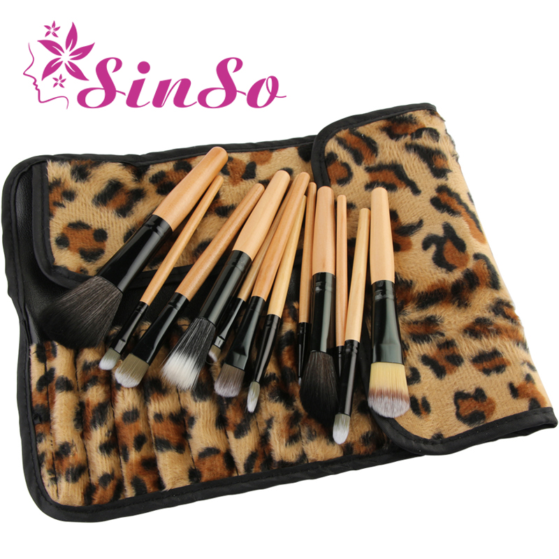 SinSo 12pcs Professional Makeup Brushes Set Cosmetics Make Up Brushes Kit Tools Powder Foundation Eyeshadow Lip Brush With Bag 12pcs makeup brushes set powder foundation eyeshadow tool makeup brush set dropship 11 1