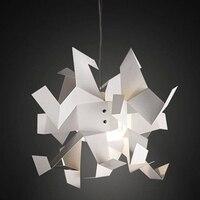 Modern red/white crane 60cm Pendant Lights Paper Cranes Pendant Lamp Suspension hone Hanging lamps