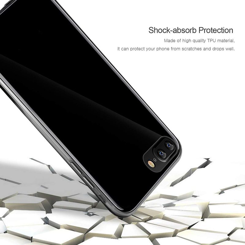 360 Degree Full Body Clear Front & Back TPU + PC Case Cover for iPhone XS Max XR X 8 7 6s 6 Plus Transparent Protection Shell