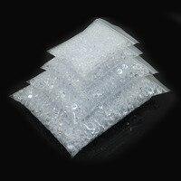 8000 Unidades/pacote de 4.5mm + 6mm + 8mm + 10mm Clara Contas de Acrílico Diamante Confetti Tabela Dispersadores Decoração do casamento Do Partido do Evento Suprimentos