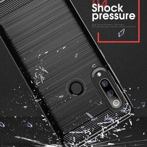 Image 5 - Voor Huawei P30 Lite Case Carbon Fiber Cover Shockproof Phone Case Voor Huawei P40 Lite E/P 30 Pro cover Duurzaam Flex Bumper Huis