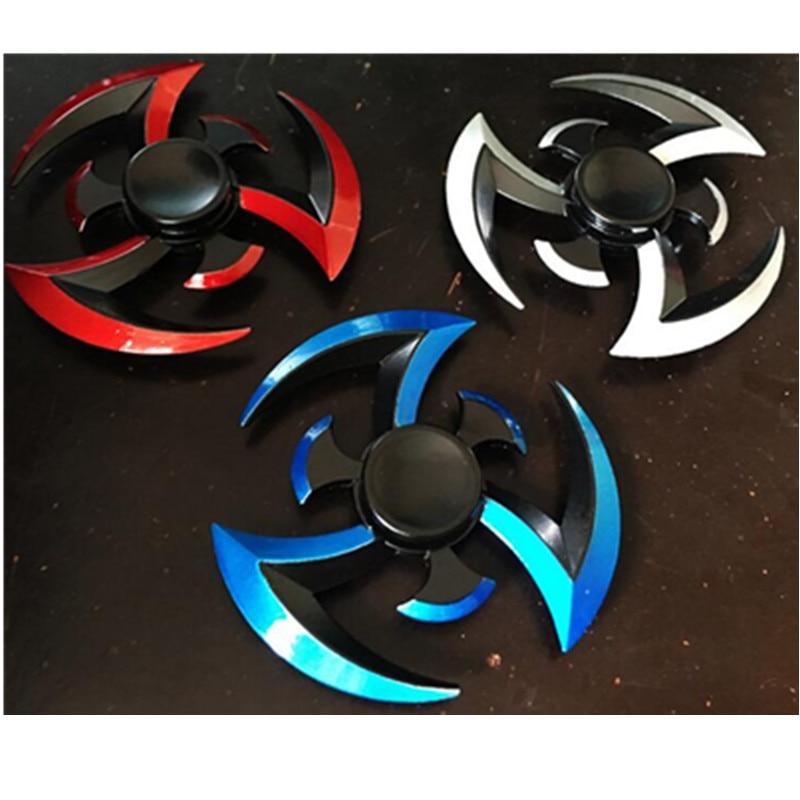 Finger Spinner Tri Spinner Darts Metal Hand Spinner Model For Kid/adult Toys