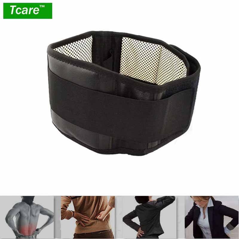 XXL Adjustable Waist Tourmaline Self Heating Magnetic Therapy Back Waist Support Belt Lumbar Brace Massage Band Health Care