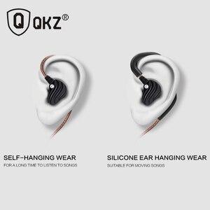Image 5 - Earphones QKZ KD4 fone de ouvido Mini Dual Driver Original hybrid dual dynamic driver Headphone mp3 DJ Headset auriculares