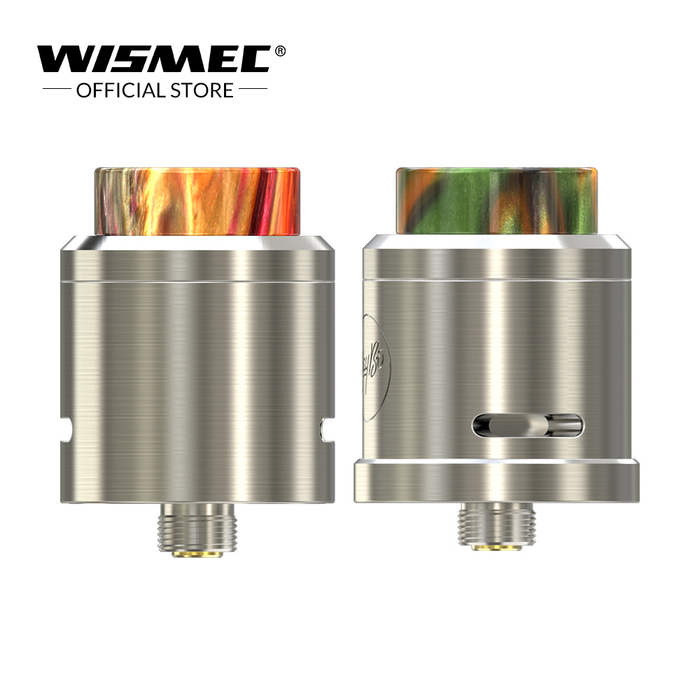 [Official Store] Original Wismec Guillotine V2 RDA Atomizer Tank 24mm diameter Rebuildable Clapton Coil Fit with Luxotic NC MOD