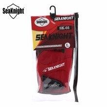 SeaKnight SK03 Sport Winter Fishing Gloves 1Pair/Lot 3 Half-Finger Breathable Leather Gloves Neoprene & PU Fishing Equipment