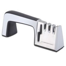 Профессиональная точилка для ножей Вольфрамовая Сталь карбида керамический точильный камень 4-х ступенчатый Ножи заточка для кухни инструменты Ножи ножницы