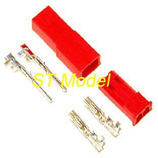 ST Model JST plug with Pin for RC helicopter Plane lipo battery connector low shipping fee 2014