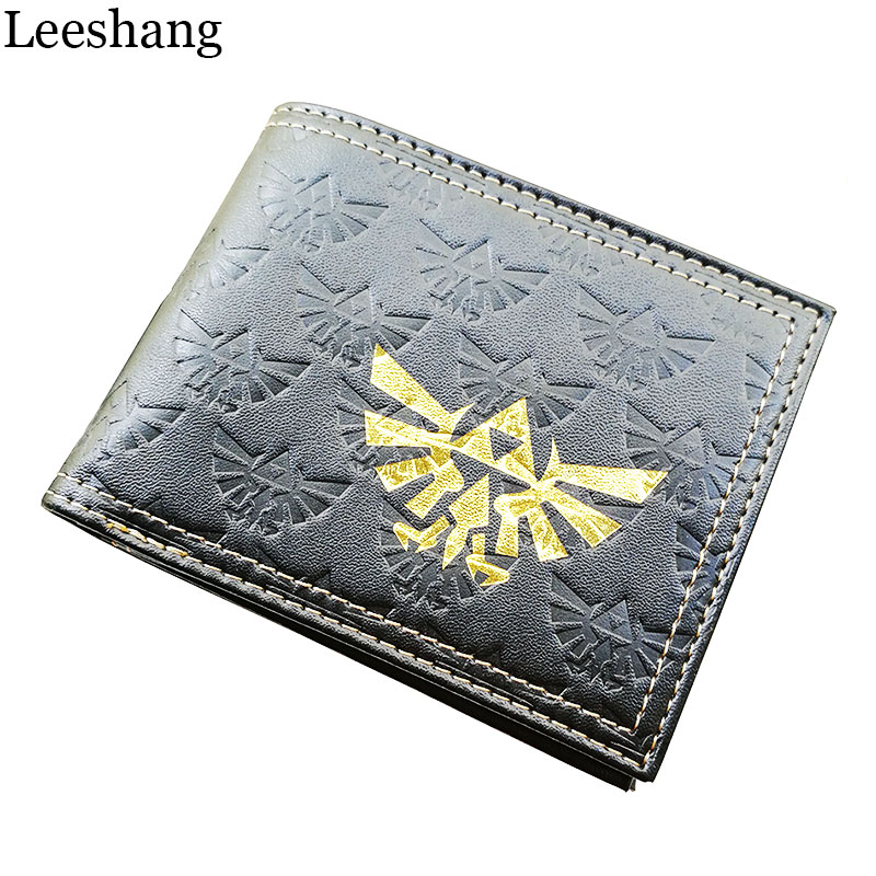 Leeshang Nintendo Legend Zelda Logo Game Portemonnee All-over Emboss - Portemonnees en portefeuilles