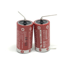 MasterFire 4pcs/lot New Original MAXELL ER17/33 3.6V 1600mAh Lithium Batteries PLC Battery (ER17/33)