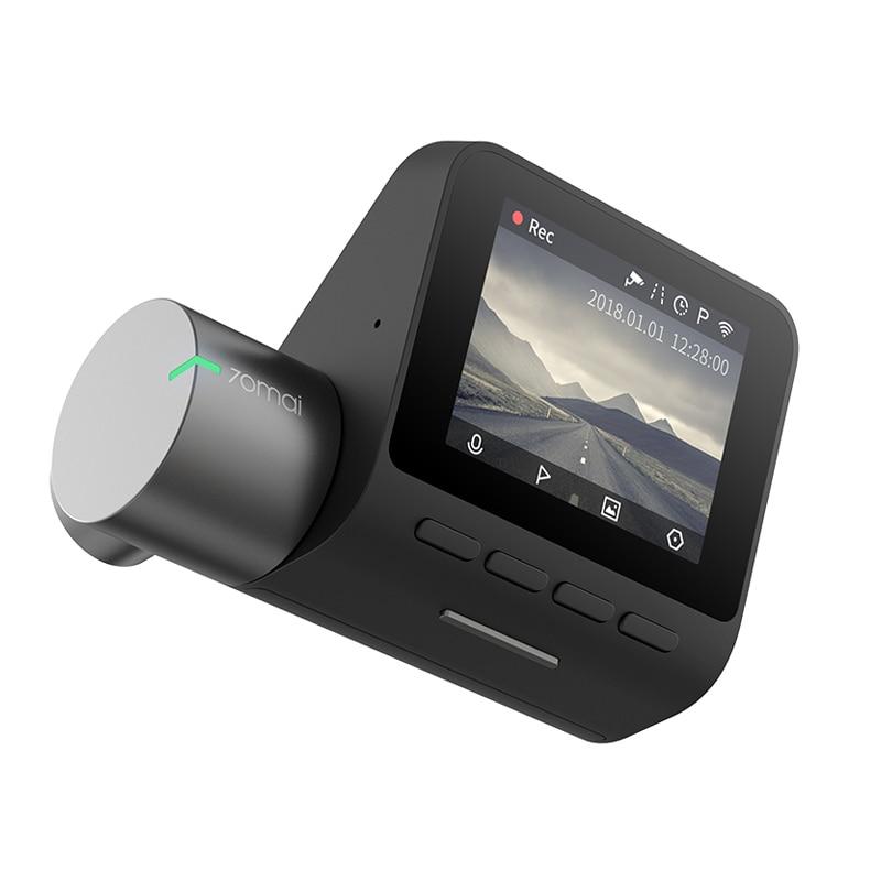 XIAOMI 70mai Dash Cam Pro 1944 P HD Voiture caméra DVR IMX335 Capteur 140 Degrés FOV Anglais/RU Version DVR gps module contrôle vocal
