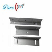 DWE Maglock CC RF Fechadura Eléctrica Suporte 280 KG Magnética Para A Porta de Balanço Suporte ZL DW-280ZL