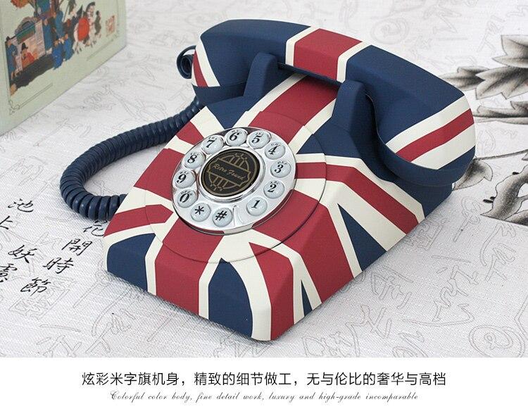 popular vintage style telephone buy cheap vintage style. Black Bedroom Furniture Sets. Home Design Ideas