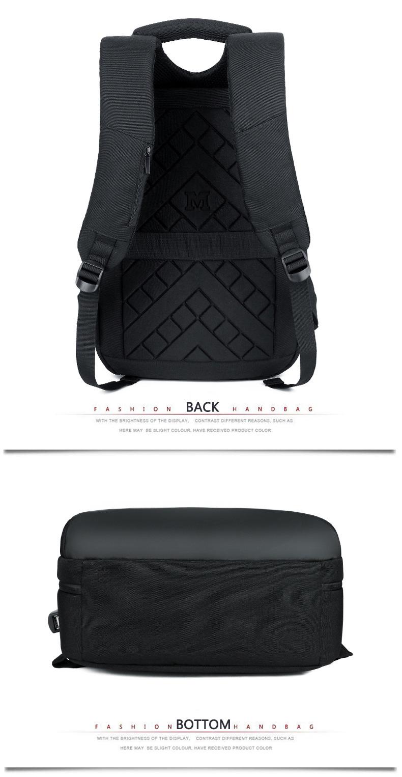 HTB19hgRXPvuK1Rjy0Faq6x2aVXae - Mens 15.6 inch Laptop Business Backpacks Waterproof Male Travel