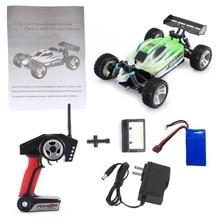 цена WL Toys A959-B 2.4G 1/18 Full Proportional Remote Control 4WD Vehicle High Speed Electric RTR Off-road Buggy RC Cars brinquedos в интернет-магазинах
