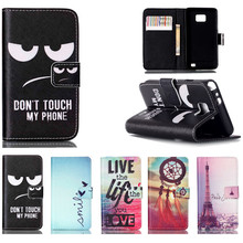 Leather Flip Cover Case For Samsung Galaxy S2 SII i9100