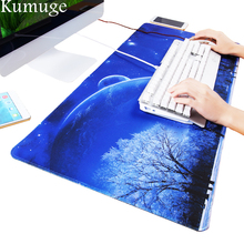 900x400mm Large Gaming Mouse Pad Locking Edge non-slip Keyboard Gaming Mousepad for CS GO Dota2 for Macbook Laptop Mouse Mat
