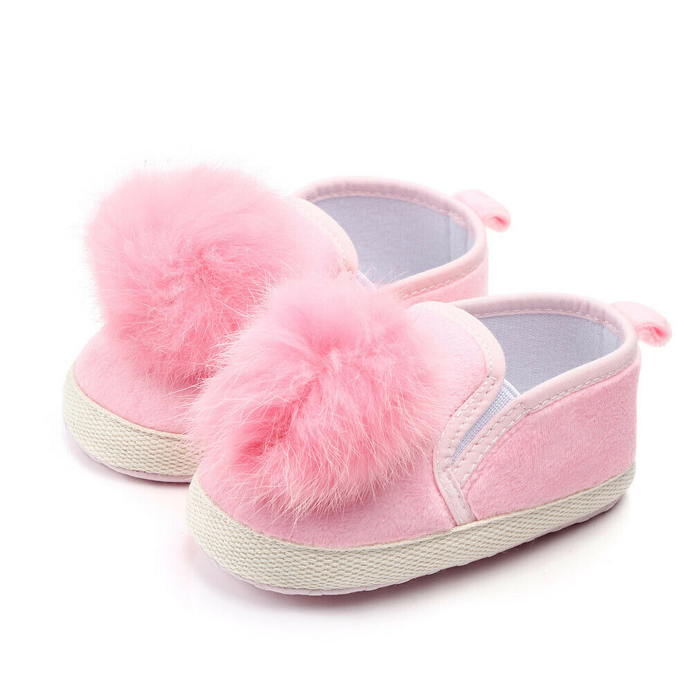 Sneakers Crib-Shoes Prewalker Soft-Sole Anti-Slip Toddler Newborn-Baby Girl Warm Solid