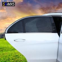 2 шт. Автомобильная Солнцезащитная УФ-защита автомобильная шторка Автомобильная Солнцезащитная шторка боковая сетка на окно солнцезащитный козырек летняя Защитная оконная пленка новая